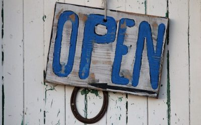 Open for business – yaay!